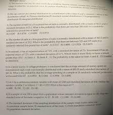 statistics and probability archive november 10 2015 chegg com