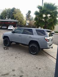 old toyota lifted rdbla 2014 toyota 4runner matte grey lifted with larger tires
