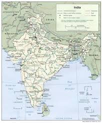 India Map Of States by Of India