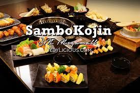 Eat All You Can Buffet by Sambo Kojin Sm Megamall Eat All You Can Smokeless Grill Buffet