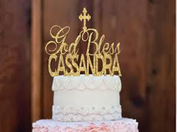 communion cake toppers baptism cake topper christening cake topper god bless cake