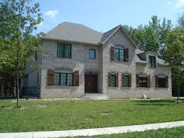 astonishing 2 story french country brick house floor plans 3