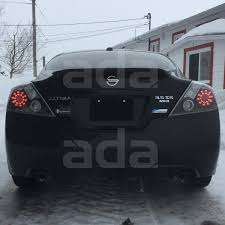nissan altima 2013 led headlights for 2008 2013 nissan altima coupe urban black led tail lights