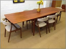 Good Looking Mid Century Modern Dining Room Tables Table With - Dining room tables los angeles