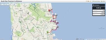 San Francisco Bay Map by Maps Hike Stats And Transportation U2013 The San Francisco Bay Trail