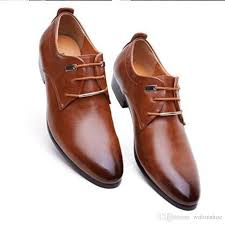 wedding shoes office mens business office genuine leather shoes gentleman luxury brand