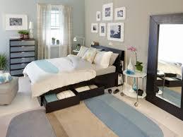 brown and light blue bedroom bedroom good looking bedroom interior decoration using parquet
