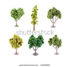set small miniature artificial tree used stock photo 22890889