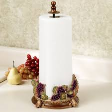 Grape Kitchen Decor Bathroom Kitchen Paper Towel Holders Wall Mounted Paper Towel Holders