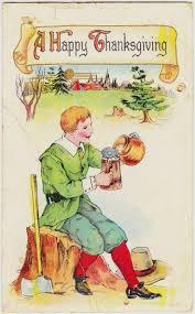 202 best thanksgiving vintage postcards images on