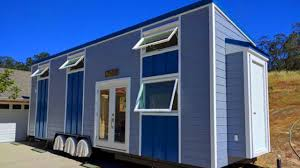 the beauty modern blue tiny house tiny house design ideas youtube