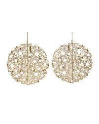ted muehling earrings ted muehling yellow gold s lace earrings