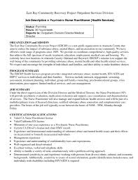 psychiatric nurse cover letter 20 mental health uxhandy com