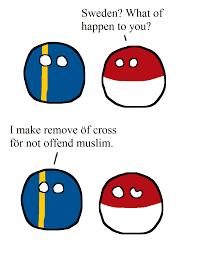 Muslim Flag Sweden U0027s New Flag