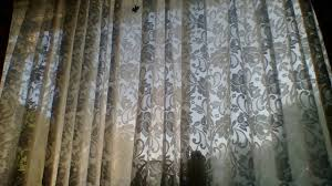 Curtain Wire Room Divider Window Net Curtains Youtube