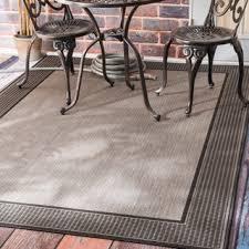 Outdoor Throw Rugs Safavieh Indoor Outdoor Courtyard Black Light Grey Rug 3 X 5