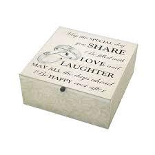 wedding keepsake box anvil home