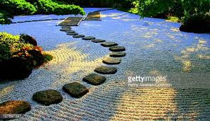 japanese rock garden stock photos and pictures getty images