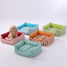 Cuddle Cushion Aliexpress Com Buy Sewcrane Blue Flowers Pet Cuddle Cushion Dog