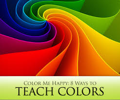 color of happy me happy 8 ways to teach colors in english