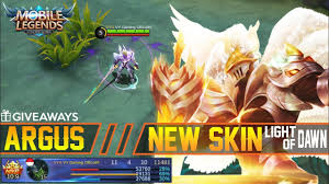Light Of Dawn Argus New Skin Light Of Dawn Gameplay And Build Giveaways