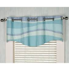 Coastal Shower Curtain by Tides Coastal Grommet Window Treatment