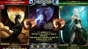 tcg android android ios trading card rage of bahamut