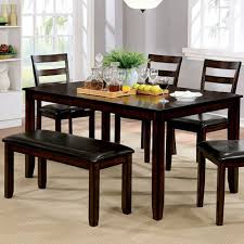 6 pc dining table set cm3331t6pk in by furniture of america in phoenix az gloria 6 pc