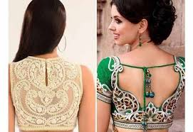 40 blouse back neck designs for that will perfectly