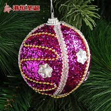 Christmas Decoration Packages by Decoration Packages Pendant 8 Cm Purple High Foam Stick Act The