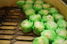 cuisine asiatique vapeur dim sum dans le vapeur en bambou cuisine chinoise type image