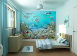 Awesome Kids Bedrooms Bedroom Awesome Kids Bedroom Design With Under Water World Mural