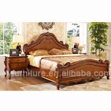 Wooden Bedroom Design Wooden Bed With Carving Design Crowdbuild For
