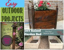 easy diy outdoor projects gathered in the kitchen