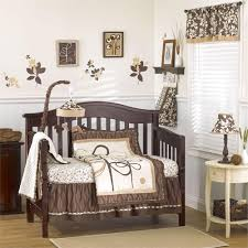Dahlia Nursery Bedding Set by Baby Crib Bedding Floral Watercolor Whispers Crib