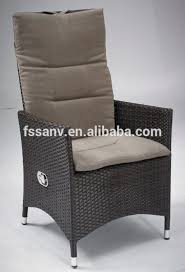 Armchair High Back Innovative High Back Wicker Patio Furniture Pair High Fan Back