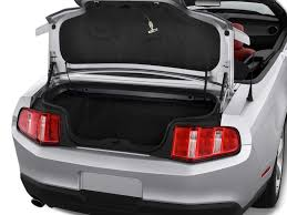 mustang trunk space ford mustang convertible trunk size car autos gallery