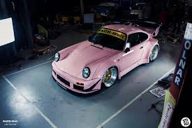rwb porsche 911 rauh welt makes special pink porsche 911 for australian debut