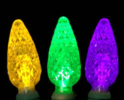 commercial c6 led 70 light purple yellow and green strawberry mini