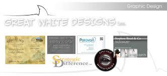 great white designs
