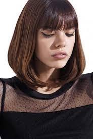 shoulder length layered bob with bangs bob hairstyles 2017