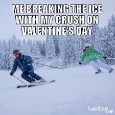 Skiing Memes - 8 valentine s day memes for the sporty type decathlon blog