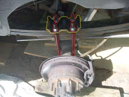 Ford F150 Truck Height - ford f150 f250 add a leaf to leaf springs how to ford trucks