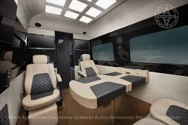 luxury minibus vehicle details alpha armouring