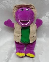 barney u0026 friends camera safari purple dinosaur vest hat 8