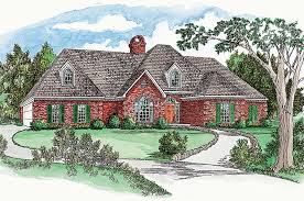 brick colonial house plans tamworth point ranch home plan 092d 0016 house plans and more