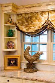French Country Roman Shades - window treatments green door interiors interior design and