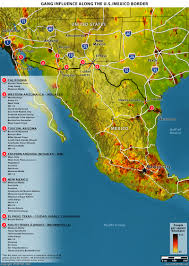 Map Of Gang Territories In Los Angeles by Stratfor U201cwhen The Mexican Drug Trade Hits The Border U201d U2013 Fabius