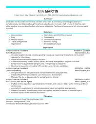 resume template for assistant best administrative assistant resume exle livecareer
