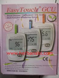 Alat Tes alat tes gula darah alat tes kolesterol tes asam urat easy touch